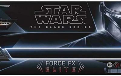 New The Mandalorian Darksaber Force FX Elite Lightsaber available now!