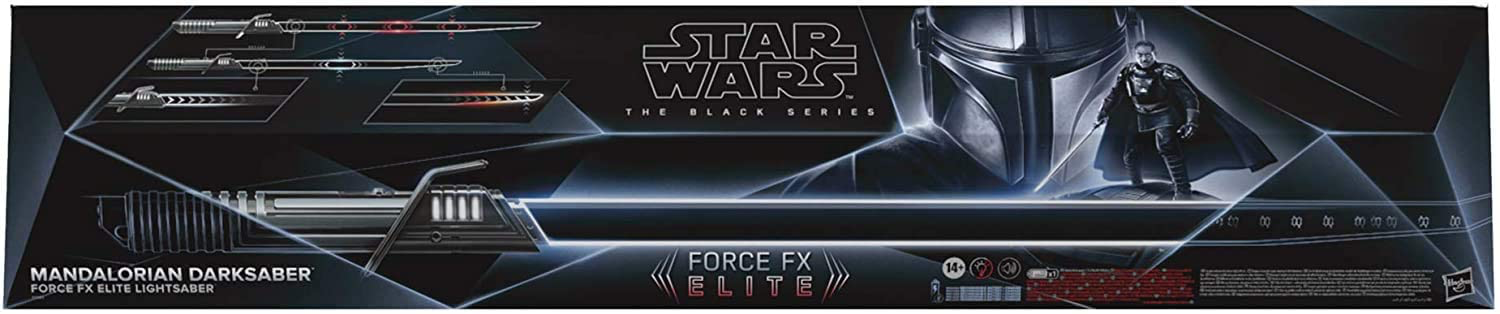 TM Darksaber Force FX Elite Lightsaber 1