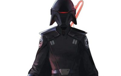 New Jedi Fallen Order Second Sister Inquisitor Cardboard Standee available!