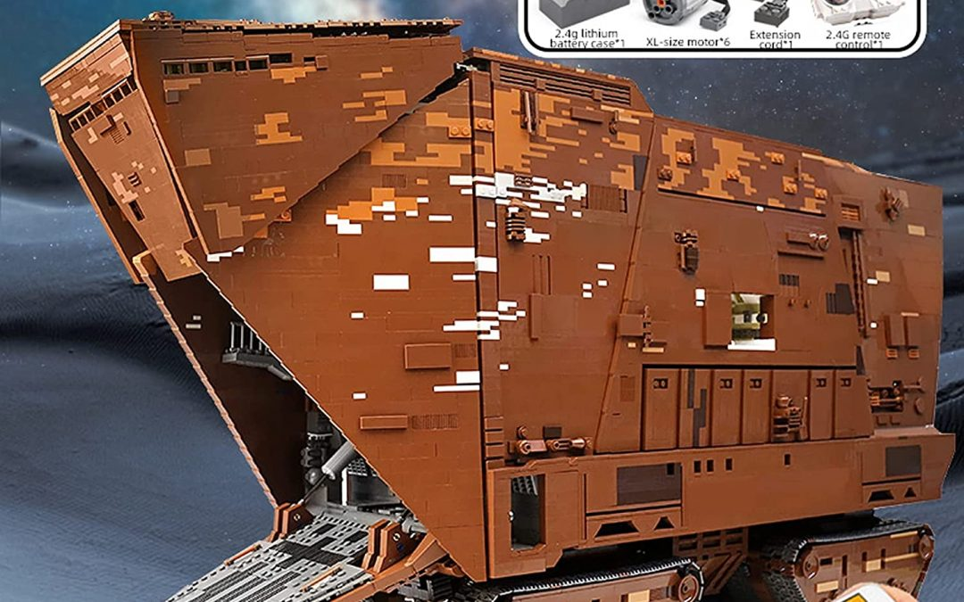 New Star Wars Sandcrawler Building Kit Lego Set available now!