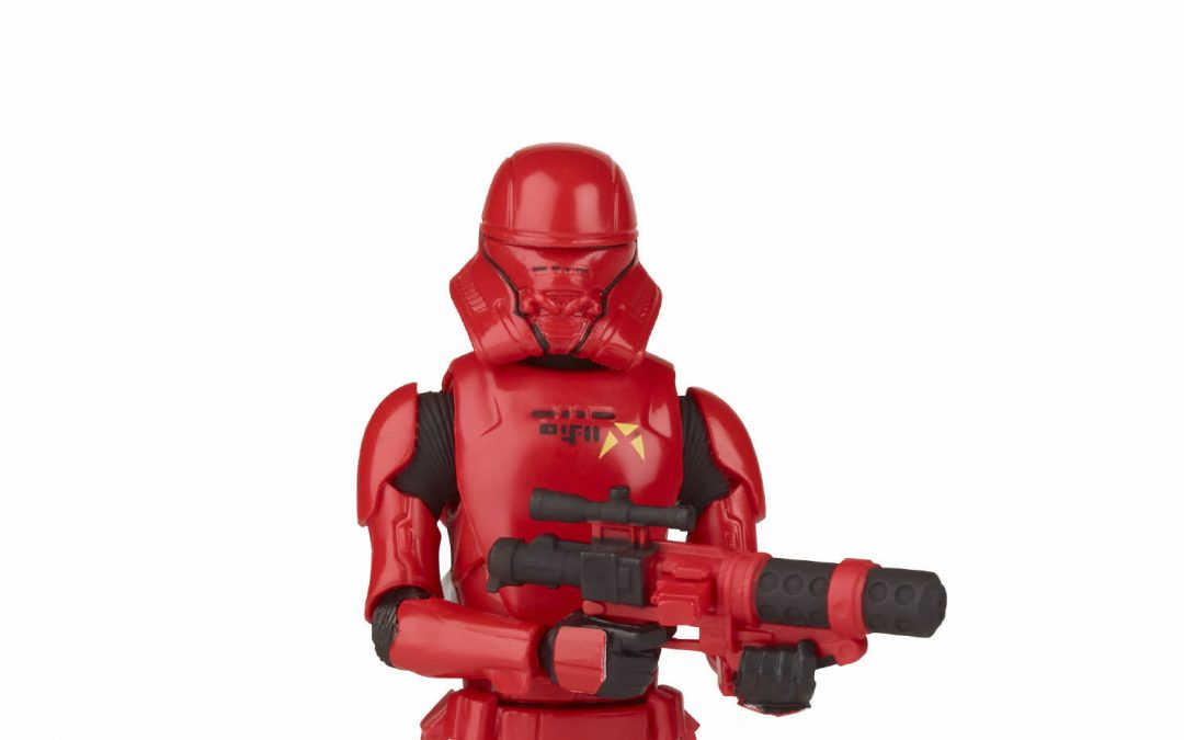 New Galaxy of Adventures First Order Sith Jet Trooper Figure available!
