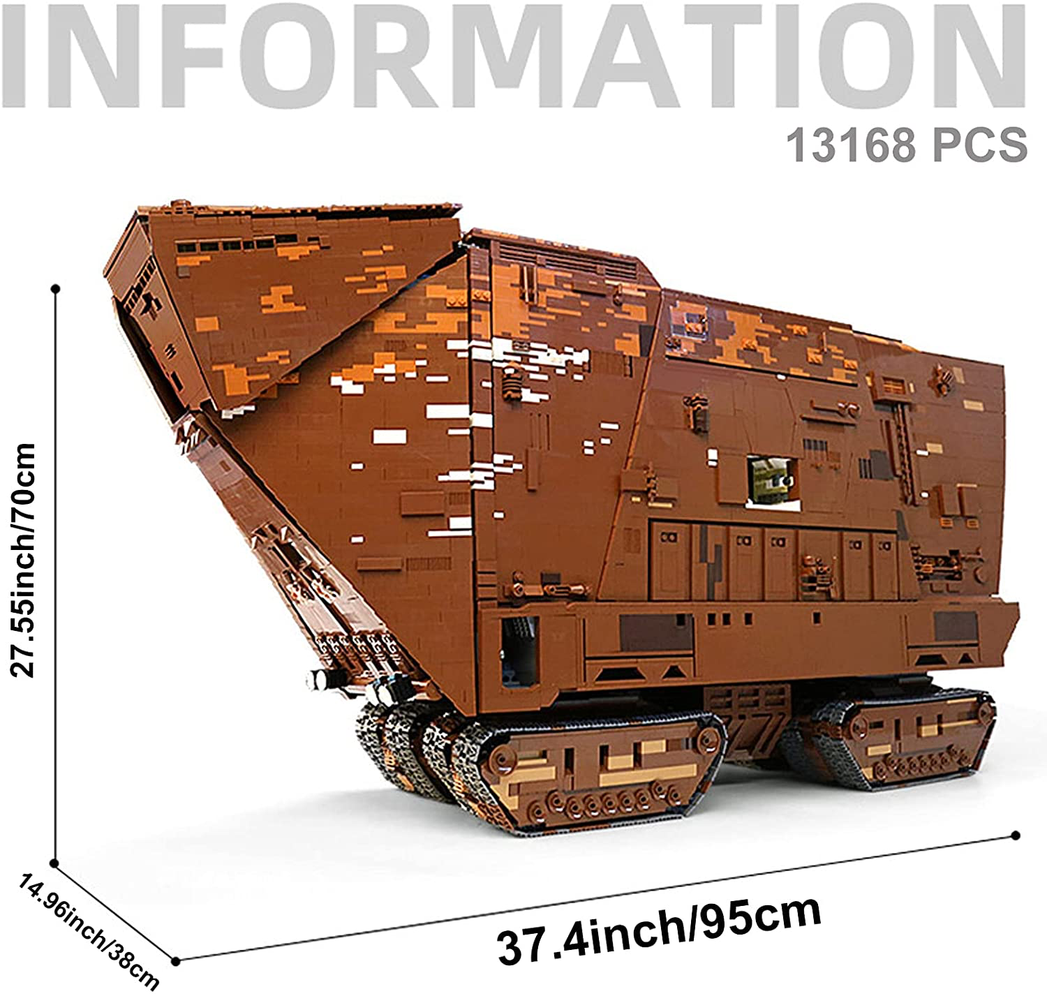 SW Sandcrawler Building Kit Lego Set 2