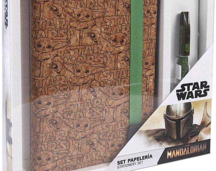 New The Mandalorian The Child (Grogu) Notebook & Pen Set available now!