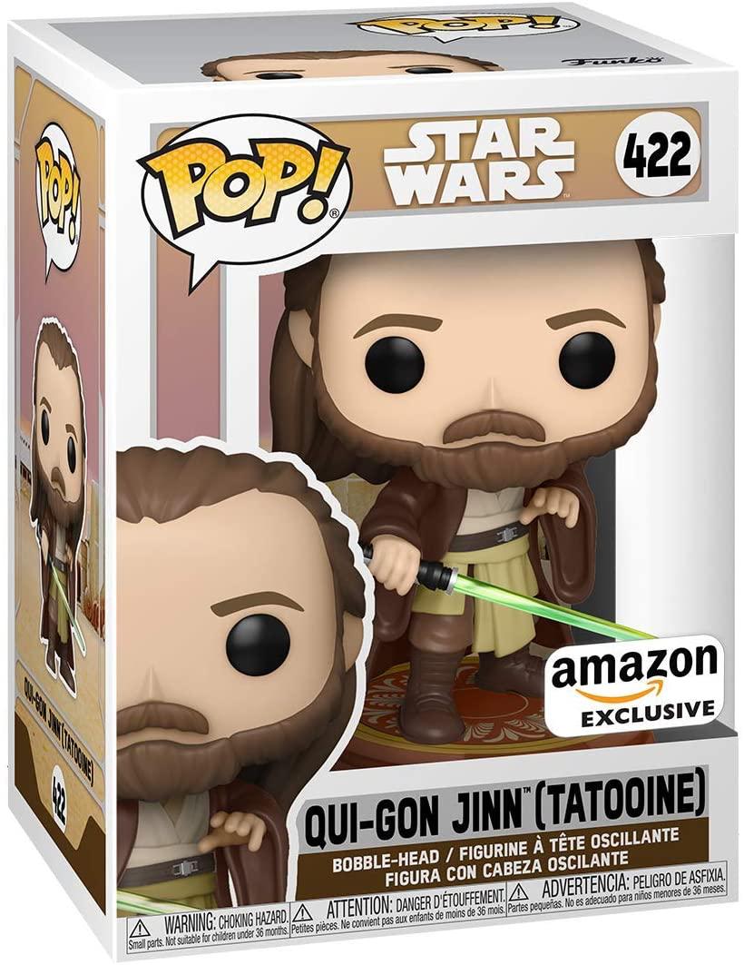 TPM FP Qui-Gon Jinn (Tatooine) Bobble Head Toy 1