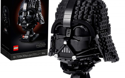 New Star Wars Darth Vader Helmet Lego Set available for pre-order!