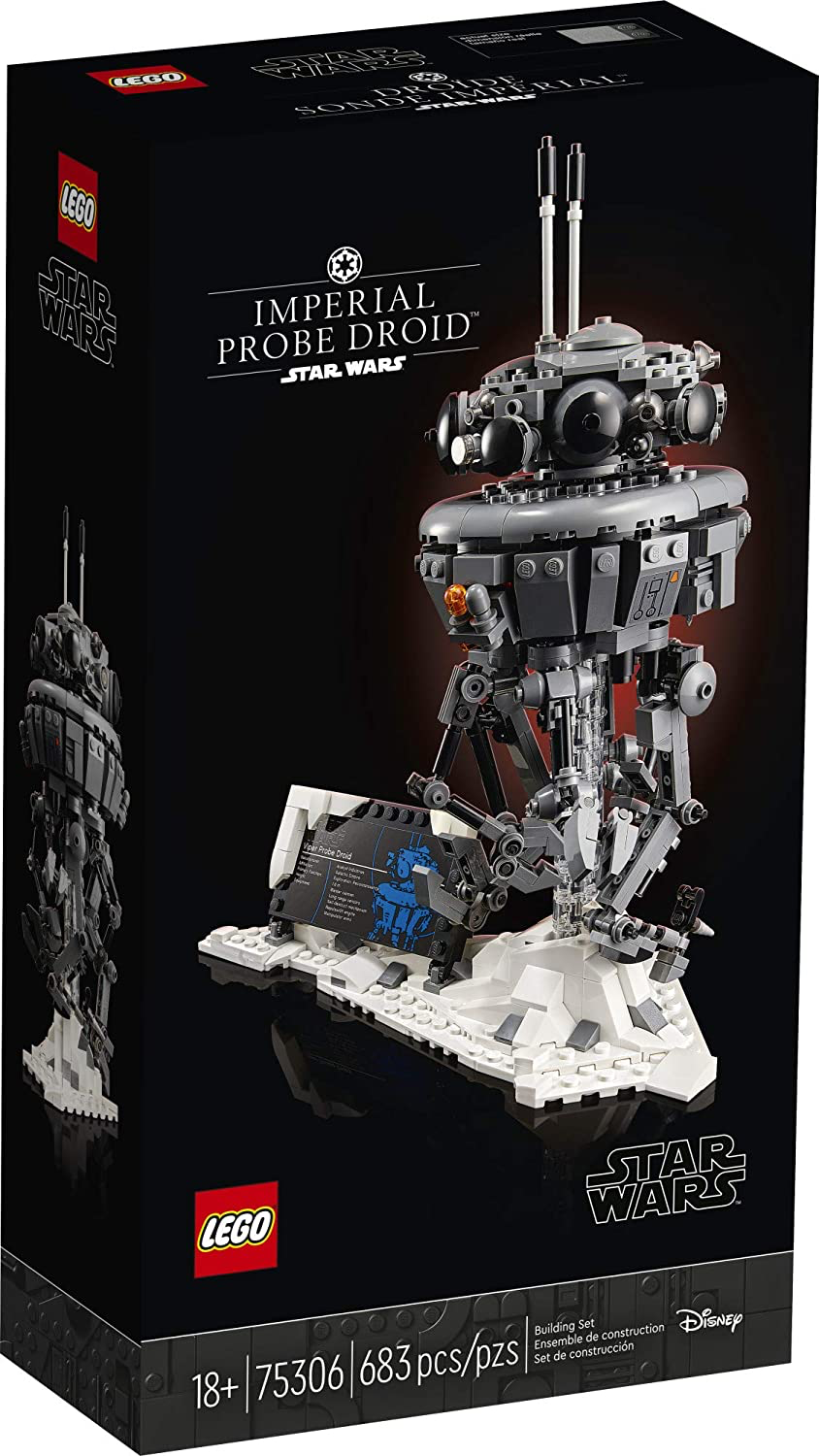 SW Imperial Probe Droid Lego Set 1