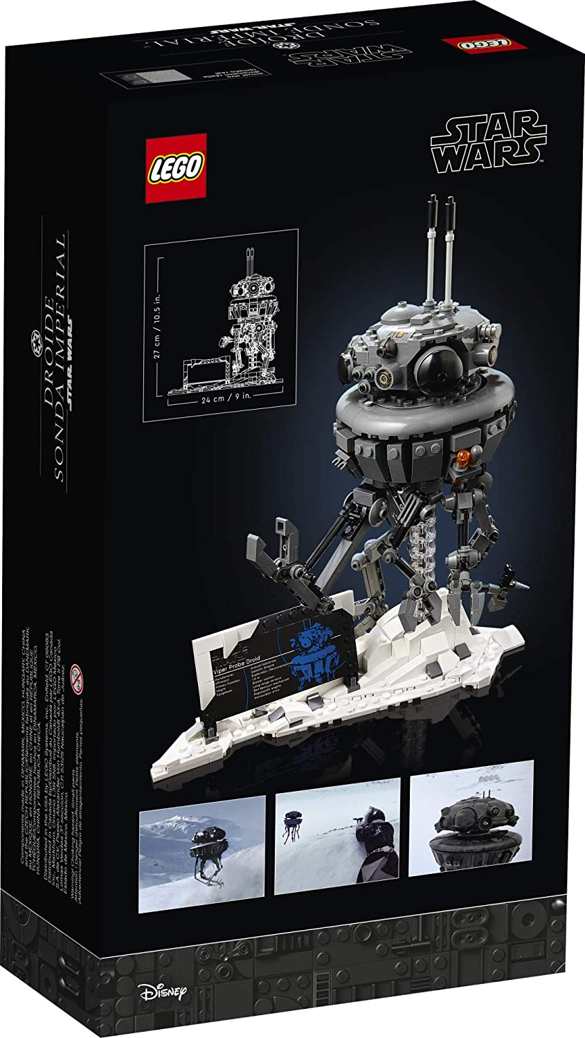 SW Imperial Probe Droid Lego Set 2