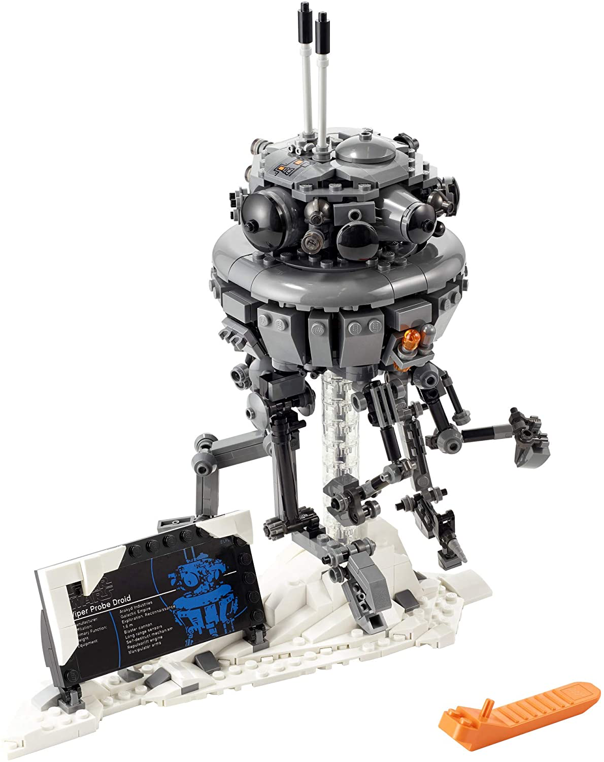 SW Imperial Probe Droid Lego Set 3