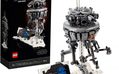 New Star Wars Imperial Probe Droid Lego Set available for pre-order!