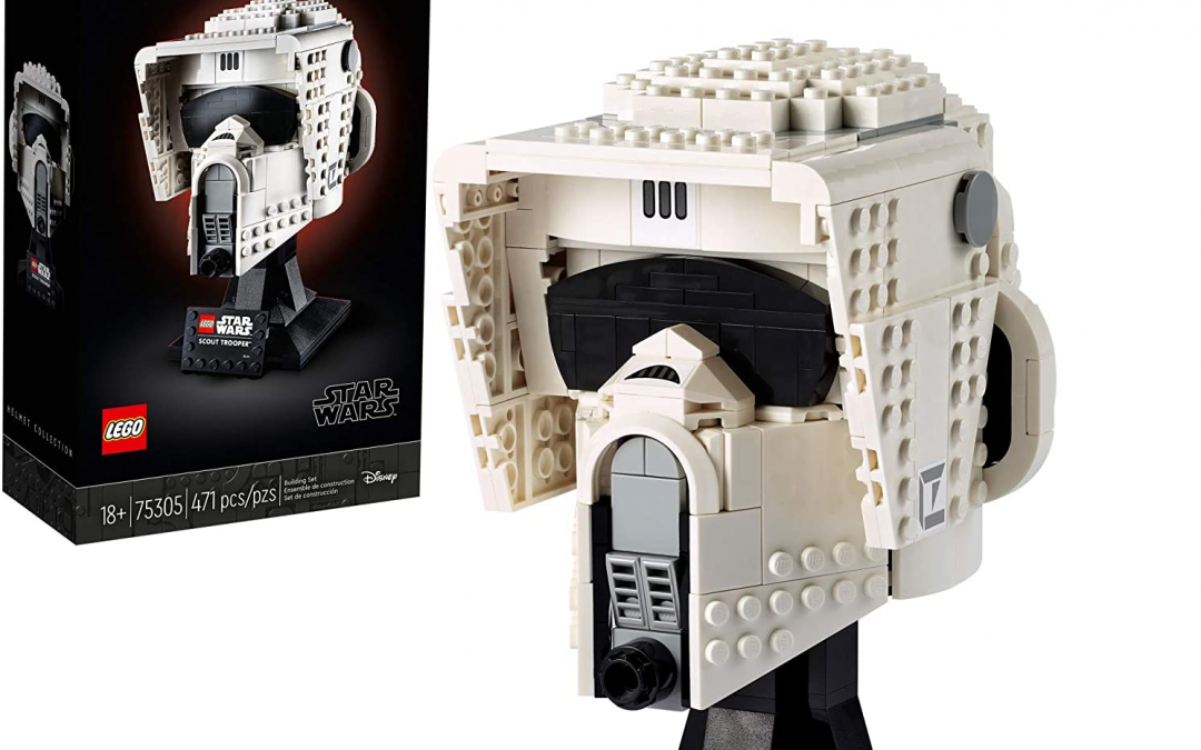 New Star Wars Scout Trooper Helmet Lego Set available for pre-order!