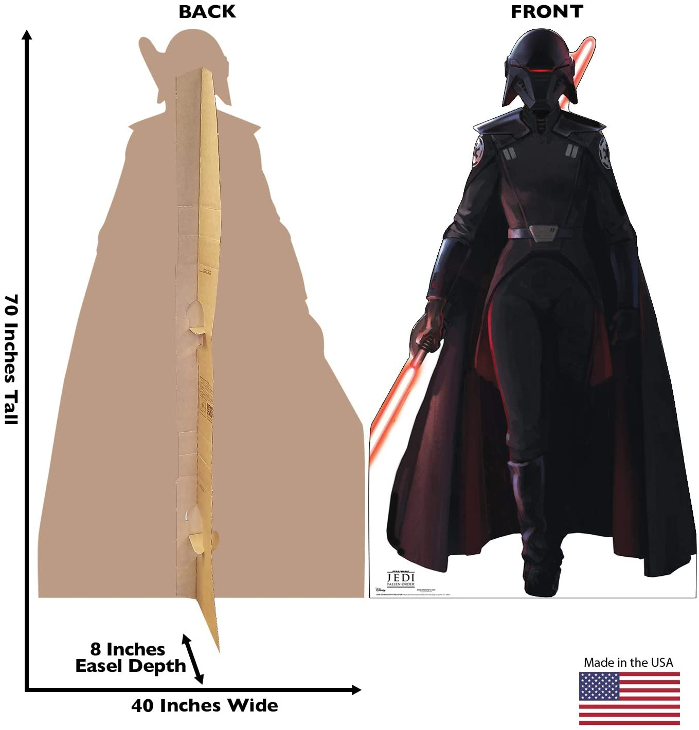 JFO Second Sister Inquisitor Cardboard Standee 2
