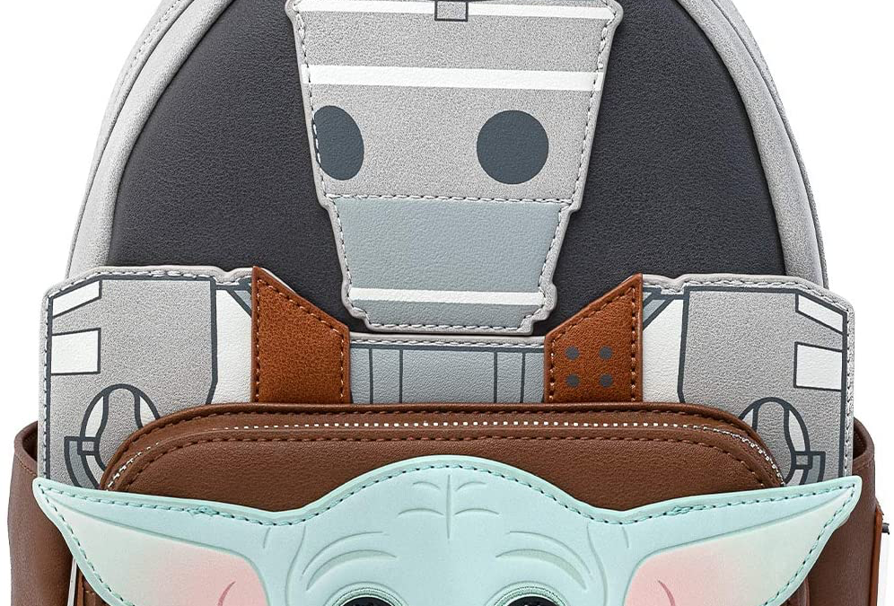 New The Mandalorian The Child and IG-11 Mini Cosplay Backpack available!