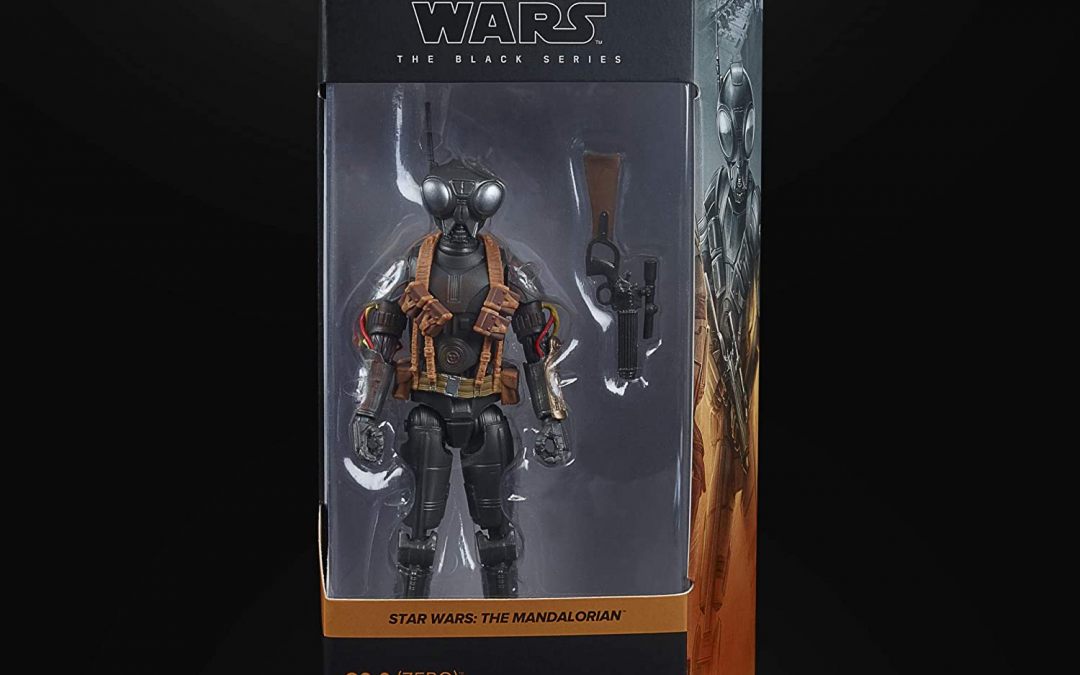 New The Mandalorian Q9-0 (ZERO) Black Series Figure available for pre-order!