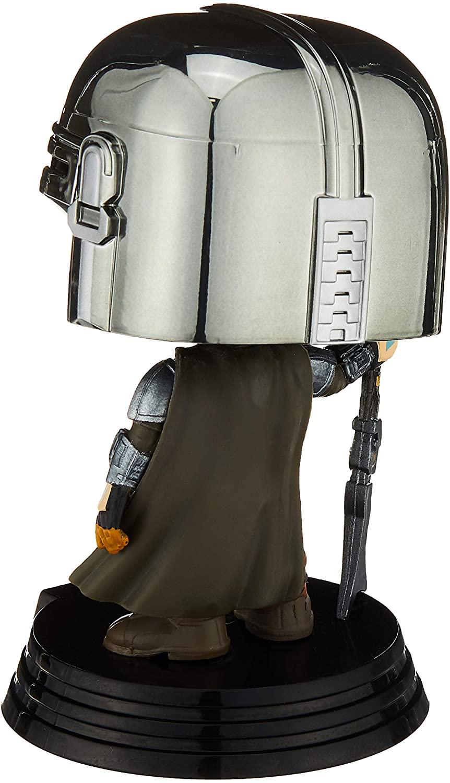 TM Mando (Din Djarin) Chrome Bobble Head Toy 4