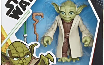 New Galaxy of Adventures Master Yoda Figure available now!