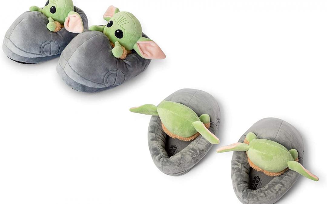 New The Mandalorian The Child (Grogu) Plush 3D Slippers available!