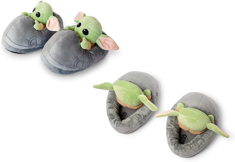 TM The Child (Grogu) Plush 3D Slippers 2