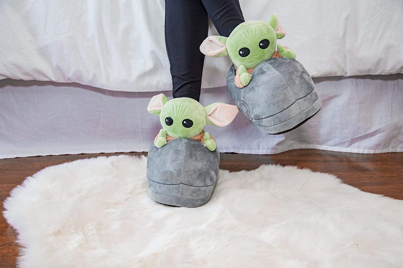 TM The Child (Grogu) Plush 3D Slippers 3