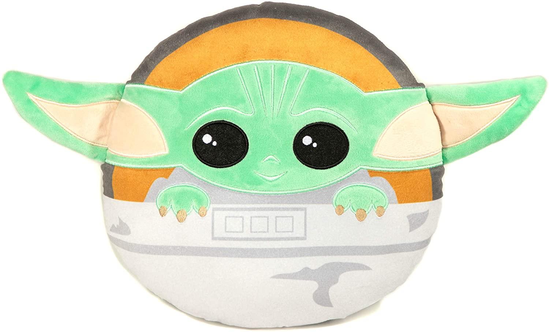 TM The Child (Grogu) Super Soft Decorative Pillow 1