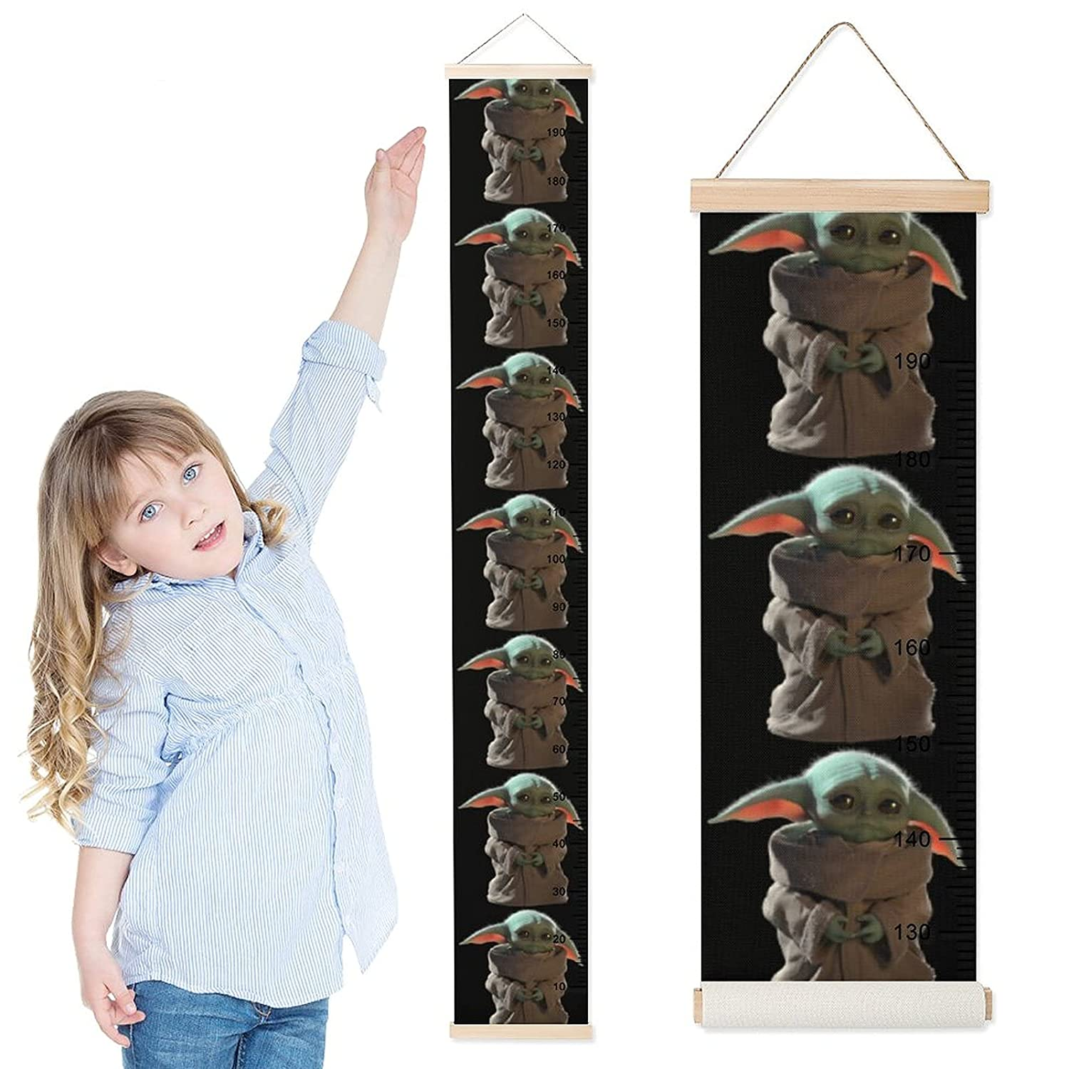 TM The Child (Grogu) Height Rulers Growth Chart 1