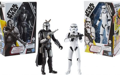 New Galaxy of Adventures Mando and Imperial Stormtrooper figure 2-pack available!
