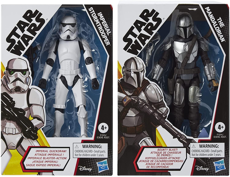 GOA (TM) Mando and Imperial Stormtrooper figure 2-pack 1