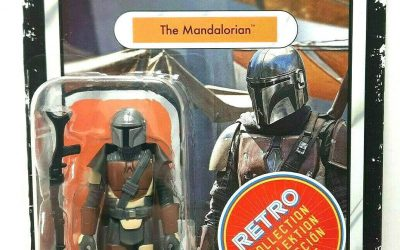 New The Mandalorian Mando (Din Dijarin) Retro Vintage Figure available!
