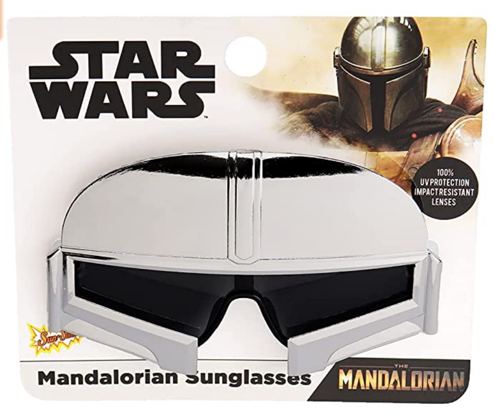 TM Mando (Din Djarin) Silver Sunglasses 1