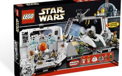 New Return of the Jedi Home One Mon Calamari Star Cruiser Lego Set available!