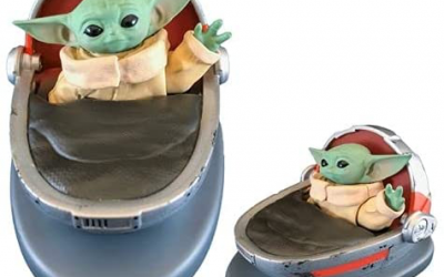 New The Mandalorian The Child (Grogu) Solar-Powered Dashboard Waver available for pre-order!