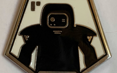 New Galaxy's Edge B-U4D Droid Depot Mystery Pin available!