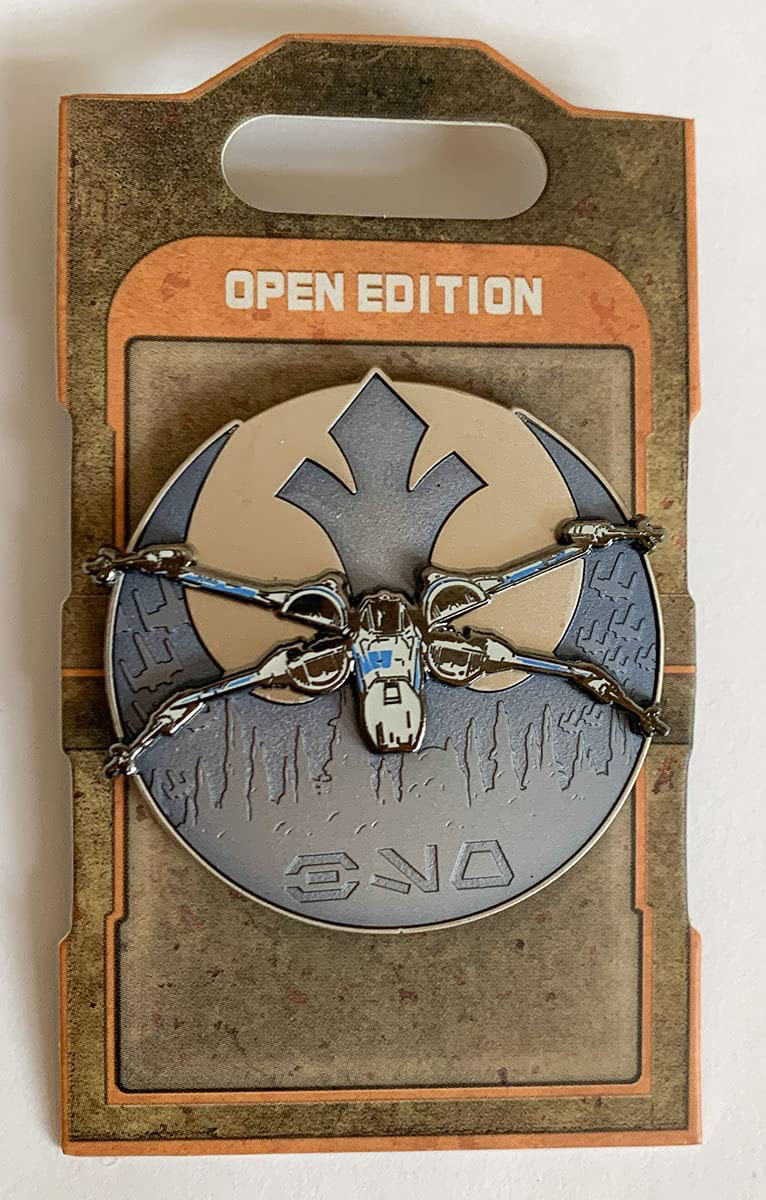 SWGE Black Spire Outpost X-Wing Fighter Pin