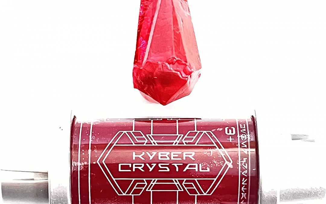 New Galaxy's Edge Darth Sidious Voice Red Kyber Crystal available!