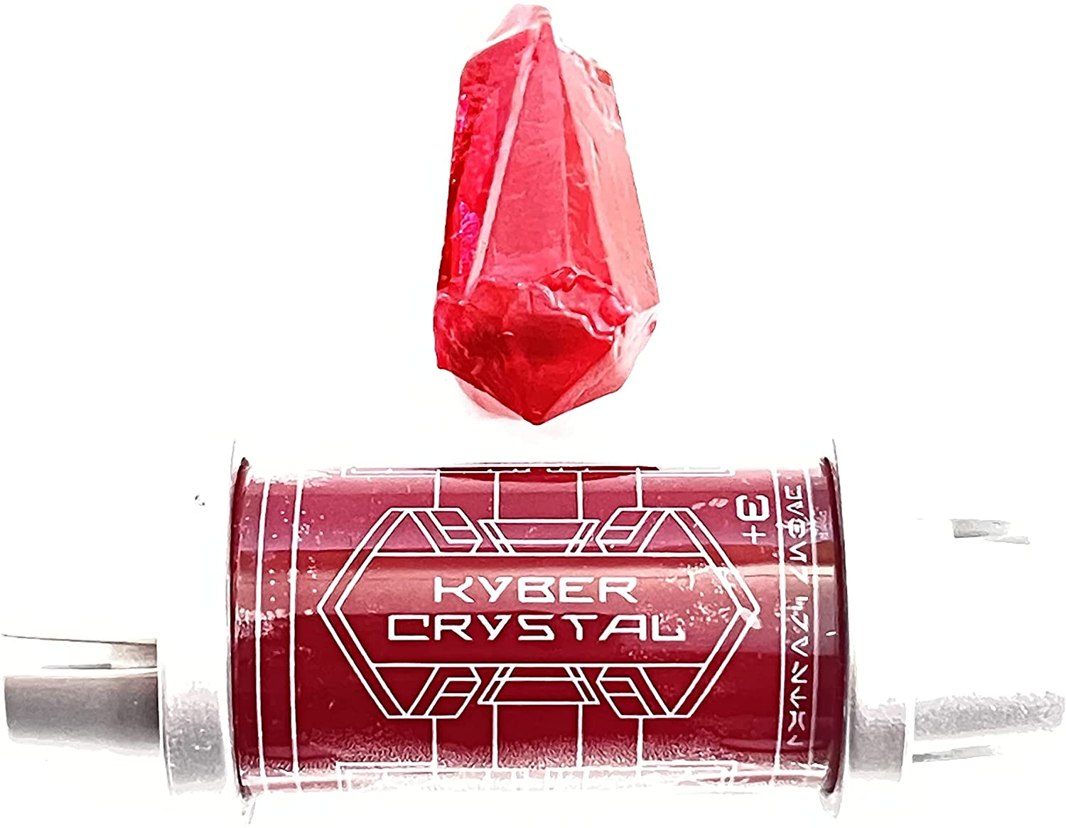 SWGE Darth Sidious Voice Red Kyber Crystal 2