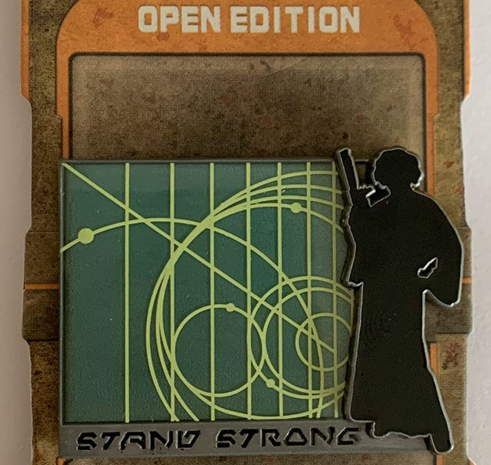New Galaxy's Edge Princess Leia Stand Strong Pin available!