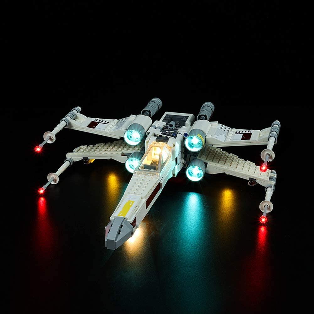 SW Luke Skywalker's X-Wing Fighter Lego Lighting Set 1