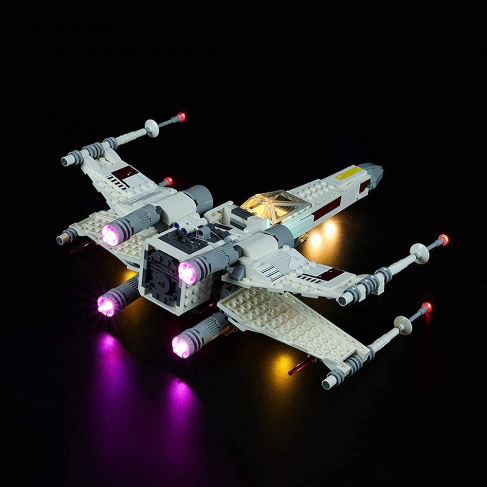 SW Luke Skywalker's X-Wing Fighter Lego Lighting Set 2