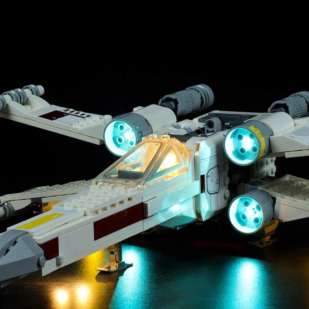 SW Luke Skywalker's X-Wing Fighter Lego Lighting Set 3