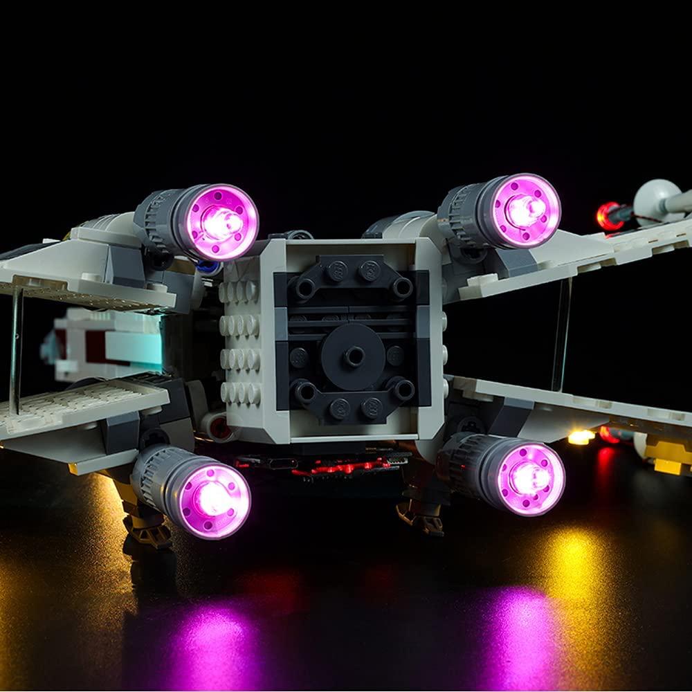 SW Luke Skywalker's X-Wing Fighter Lego Lighting Set 4