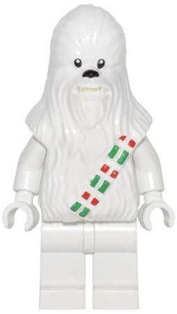 SW Snow Chewbacca Lego Minifigure