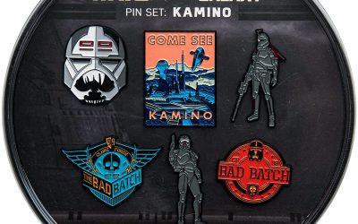 New The Bad Batch Kamino Enamel 6 Pin Set available now!