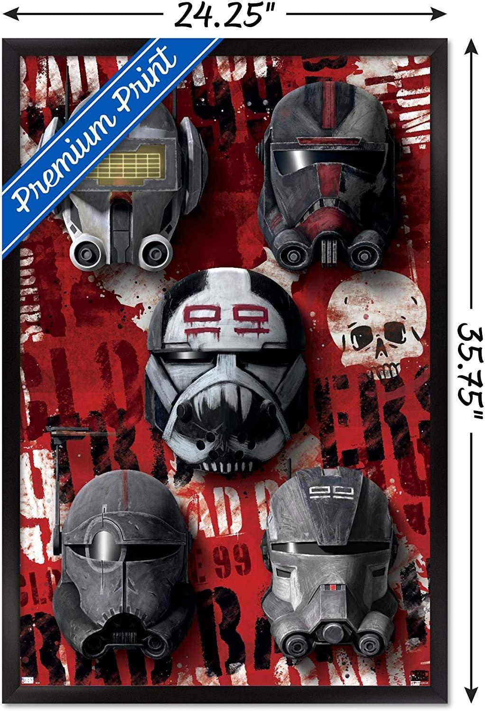 SWTBB Helmets Wall Poster 2
