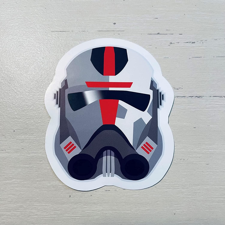 SWTBB Hunter's Helmet Laptop Hydroflask Sticker