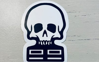 New The Bad Batch Skull Hydroflask Laptop Sticker available now!