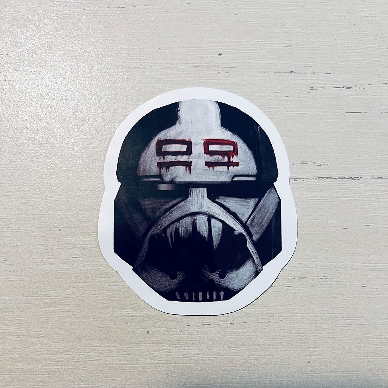SWTBB Wrecker's Helmet Laptop Sticker