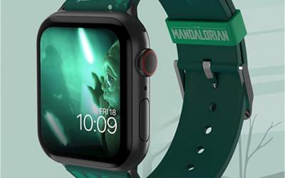 New The Mandalorian Luke and Grogu Smartwatch Band available!
