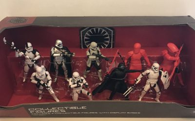 New Star Wars Galaxy's Edge First Order Collectible Figure Play Set available!