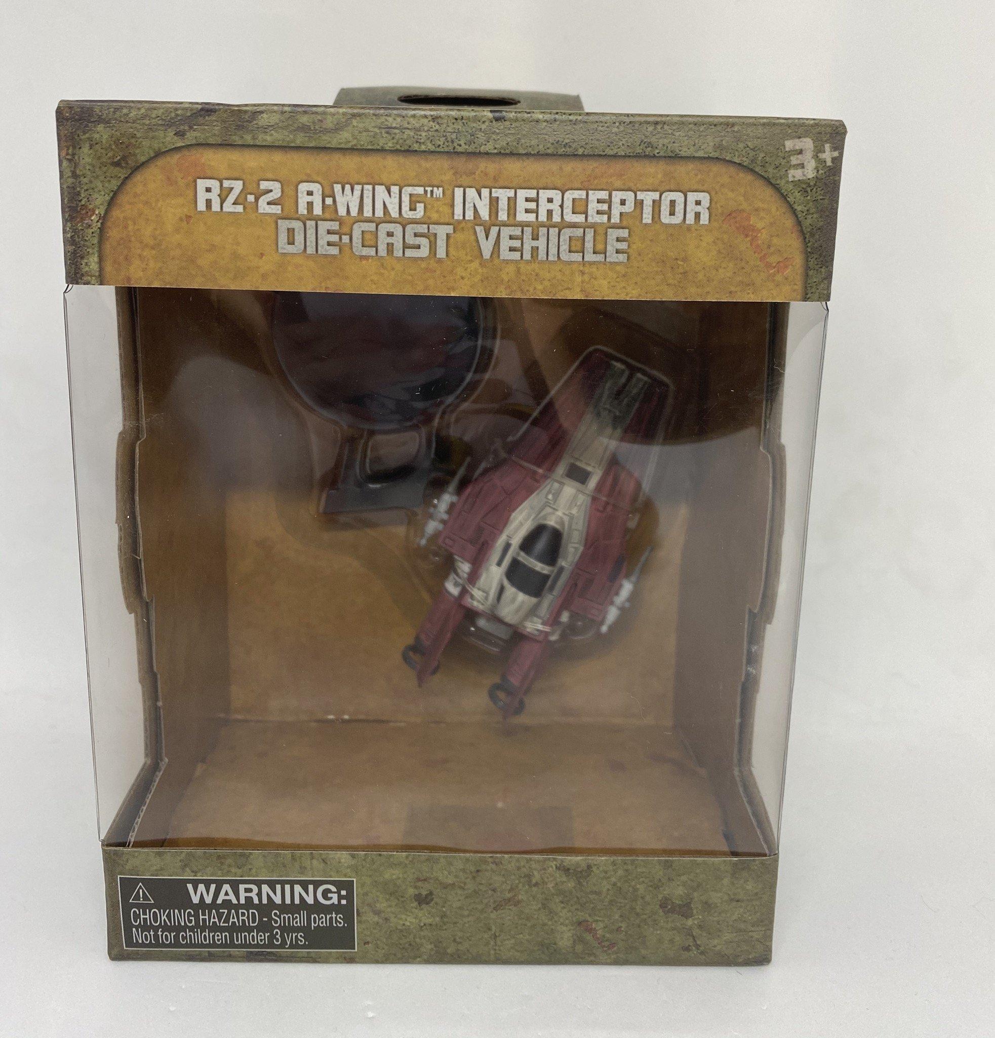SWGE RZ-2 A-Wing Interceptor Die Cast Vehicle Toy
