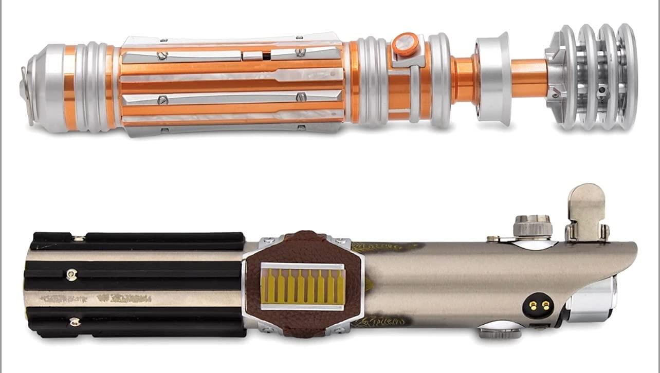 SWGE Leia Organa & Reforged Skywalker Legacy Lightsaber Hilts Set 4