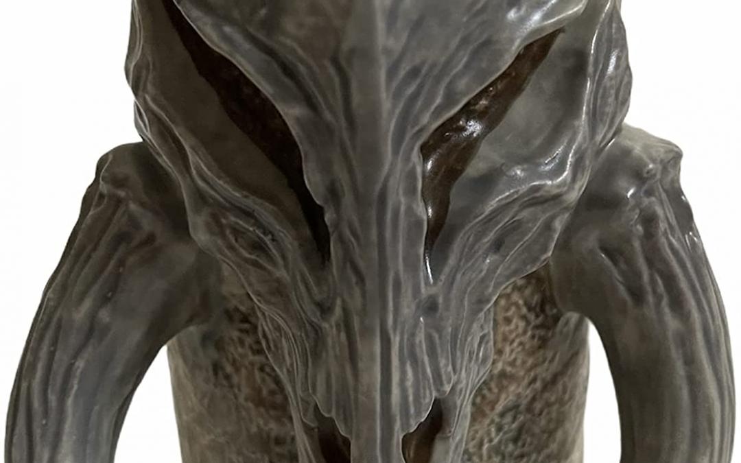 New Galaxy's Edge Boba Fett Mythosaur Skull Mug Cup available now!